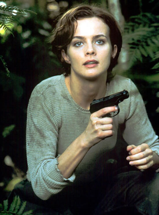 Izabella Scorupco as Natalya Simonova in GoldenEye in 1995