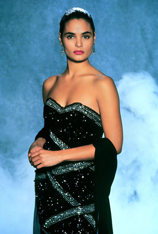 Talisa Soto as Lupe Lamora in Licence to Kill in 1989