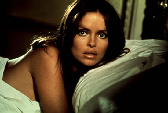 Barbara Bach as Anya Amasova in The Spy Who Loved Me in 1977