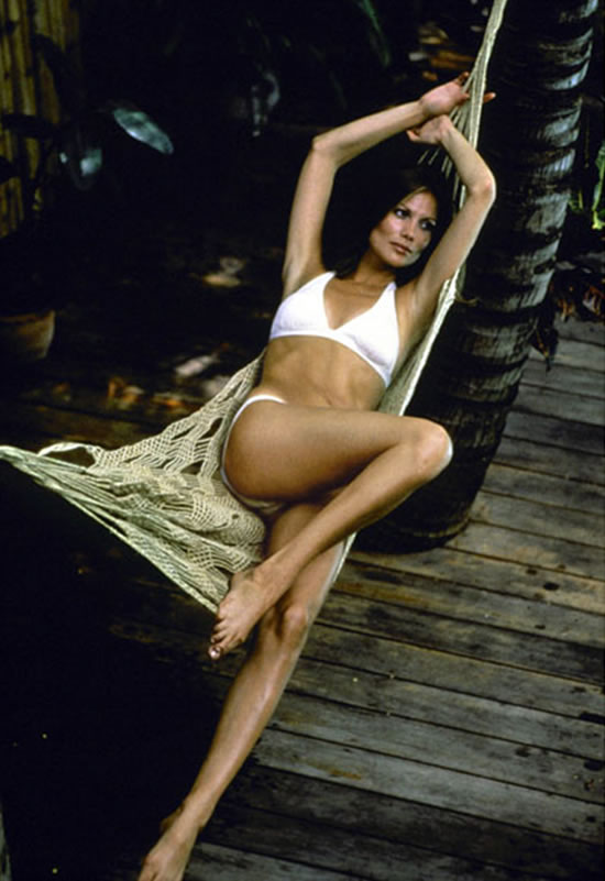 Maud Adams as Andrea Anders in The Man with the Golden Gun in 1974