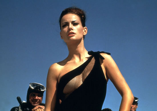 Luciana Paluzzi as Fiona Volpe in Thunderball in 1965