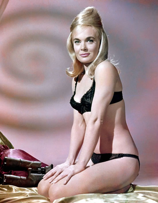 Shirley Eaton as Jill Masterton in Goldfinger in 1964