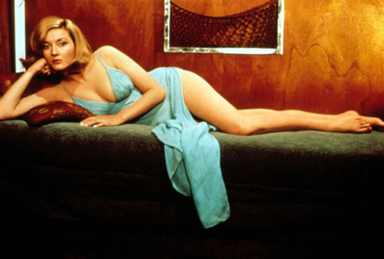 Daniela Bianchi as Tatiana Romanova in From Russia with Love in 1963
